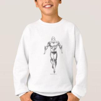 Aquaman Runs BW Sweatshirt