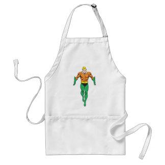 Aquaman Runs Standard Apron