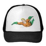 Aquaman Soars Mesh Hats