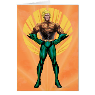 Aquaman Standing Card