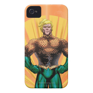 Aquaman Standing iPhone 4 Case-Mate Cases