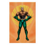 Aquaman Standing Poster