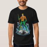 Aquaman Stands with Pitchfork Tee Shirt