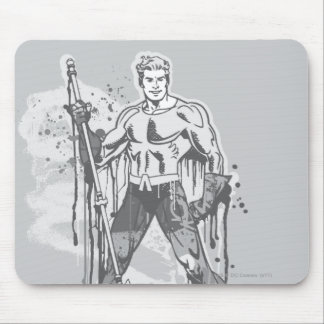 Aquaman - Twisted Innocence BW Mouse Mat