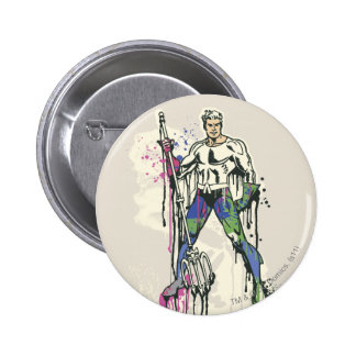 Aquaman - Twisted Innocence Color 6 Cm Round Badge