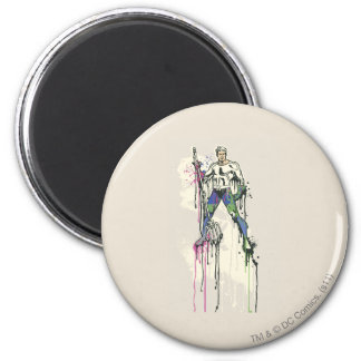 Aquaman - Twisted Innocence Color Magnet