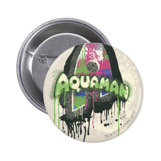 Aquaman - Twisted Innocence Letter 6 Cm Round Badge