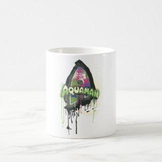 Aquaman - Twisted Innocence Letter Coffee Mug