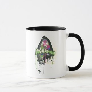Aquaman - Twisted Innocence Letter Mug