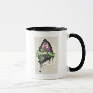 Aquaman - Twisted Innocence Letter Mug