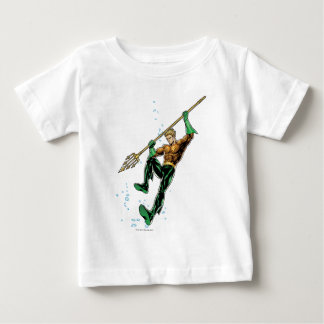 Aquaman with Spear Baby T-Shirt