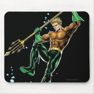 Aquaman with Spear Mouse Mat
