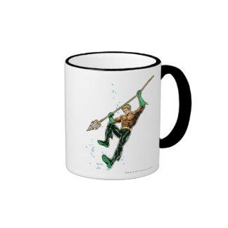 Aquaman with Spear Ringer Mug