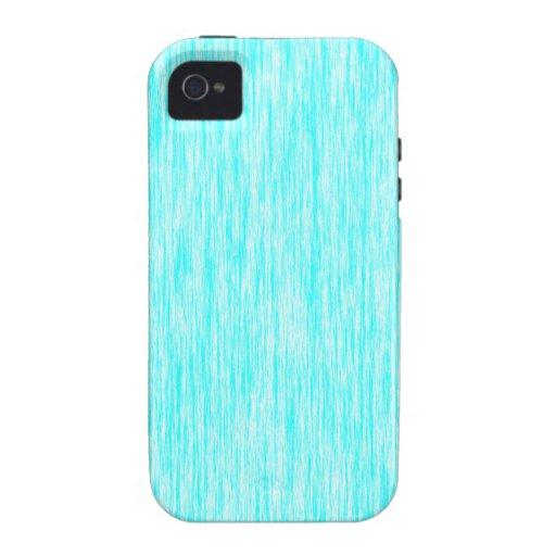Aquamarine-Blue-Dark-Violet-Render-Fibers-Pattern Case For The iPhone 4