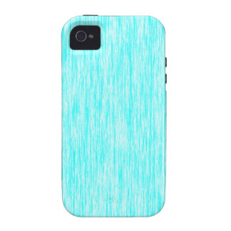 Aquamarine-Blue-Dark-Violet-Render-Fibers-Pattern Case-Mate iPhone 4 Cover