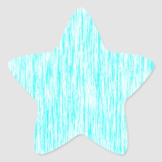 Aquamarine-Blue-Dark-Violet-Render-Fibres-Pattern Star Sticker
