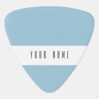 Aquamarine Blue High End Solid Color Guitar Pick