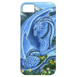 Aquamarine Dragon Case-Mate iPhone 5 Cases