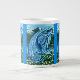 Aquamarine Dragon Large Coffee Mug
