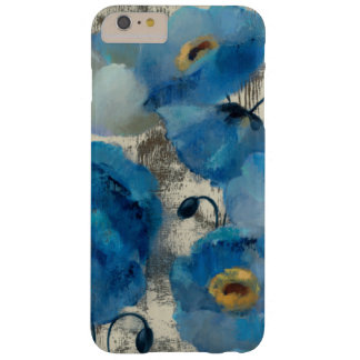 Aquamarine Floral Barely There iPhone 6 Plus Case