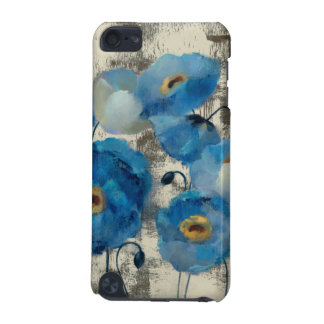 Aquamarine Floral iPod Touch 5G Covers