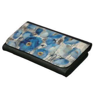 Aquamarine Floral Wallet