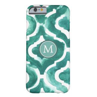 Aquamarine Motif IV Barely There iPhone 6 Case