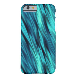 Aquamarine silky waves barely there iPhone 6 case
