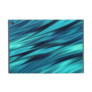 Aquamarine silky waves iPad mini cover