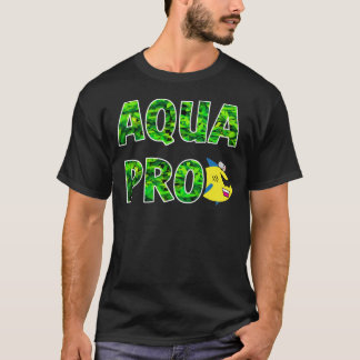 AQUAPRO Stacked Leaf Logo (Dark) T-Shirt
