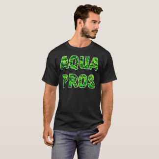 AQUAPROS Stacked Leaf Logo (Dark)) T-Shirt