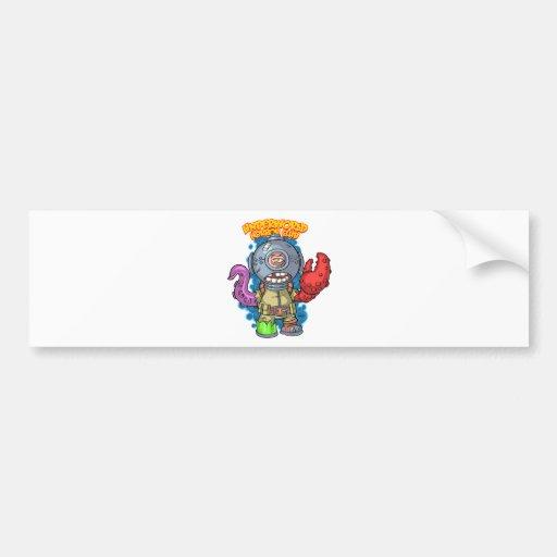 Aquapus Bumper Sticker