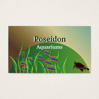 Aquarium Business Cards