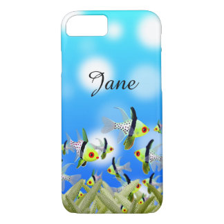 AQUARIUM Cell Phone Cover, Fishes & Sea iPhone 8/7 Case
