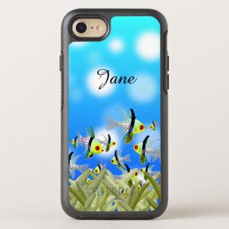 AQUARIUM Cellphone Case, Fishes & Sea OtterBox Symmetry iPhone 8/7 Case