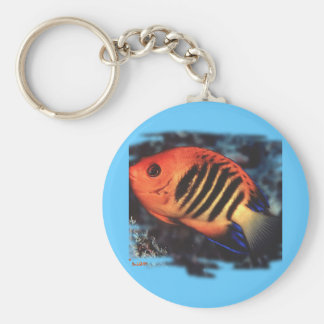 Aquarium Fish Collection by FishTs.com Keychain