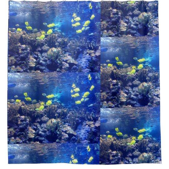 Aquarium Fish shower curtain