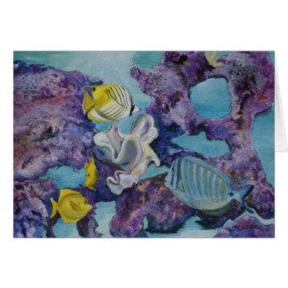 Aquarium Greeting Cards
