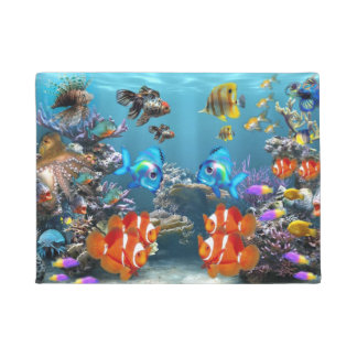 Aquarium Sealife Doormat