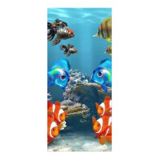 Aquarium Sealife Rack Card