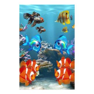 Aquarium Style Customised Stationery