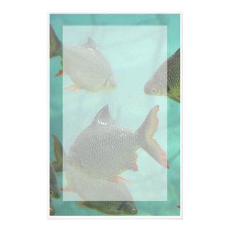 Aquarium Style Stationary Stationery Design