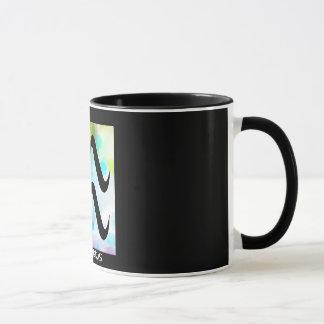 """""""AQUARIUS"""" 11 oz. RINGER COFFEE MUG"""