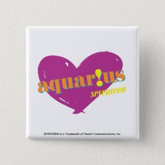 Aquarius 2 15 cm square badge