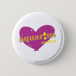 Aquarius 2 6 cm round badge