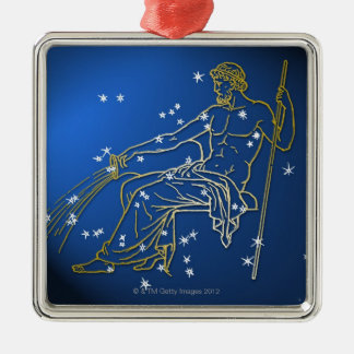 Aquarius 2 christmas ornament