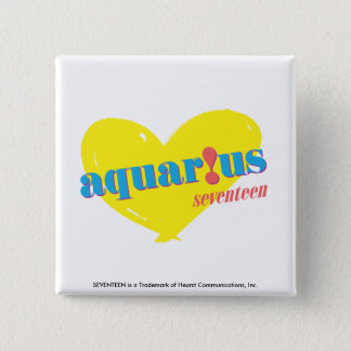 Aquarius 3 15 cm square badge