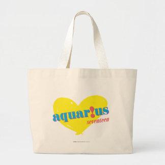Aquarius 3 large tote bag