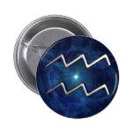 Aquarius 6 Cm Round Badge