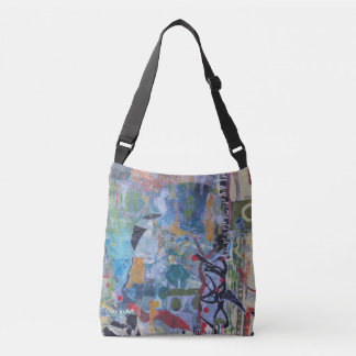 Aquarius - A Casual Artsy Crossbody Bag